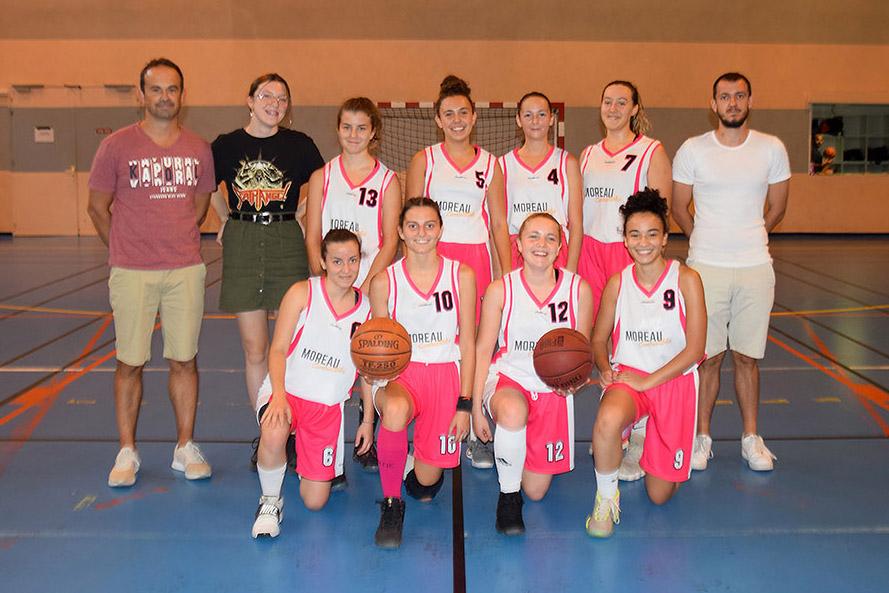 photo équipe U18F 2020 2019