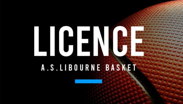 LICENCE ASL LIBOURNE BASKET