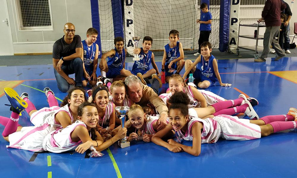 Les U13 de Libourne remportent le tournoi de Bassens