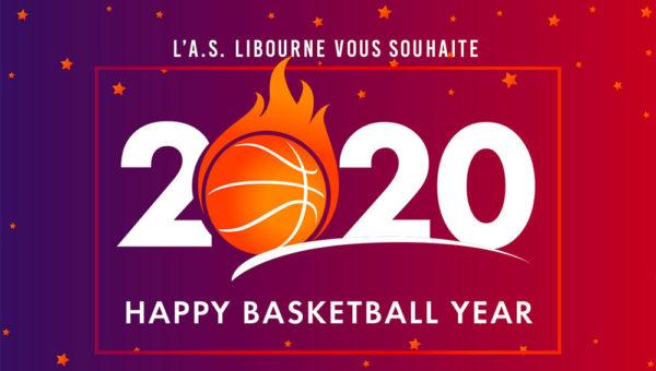 Bonne année 2020 de l'ASL Basket